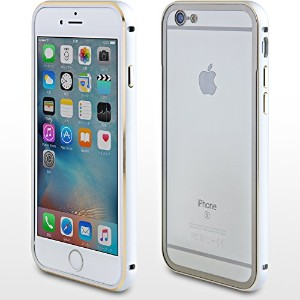 【iSiT】iPhone 6s /iPhone 6 アルミバンパー + 背面保護プレート (シルバー)ABBPIP6S-SV