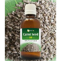 CARROT SEED OIL 100% NATURAL PURE UNDILUTED UNCUT ESSENTIAL OILS 50ML