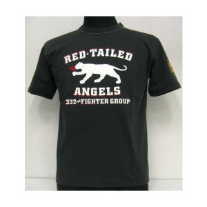 【40%OFF!】THE FEW(フュー)MILITARY Tee[RED TAILED 15th AIR FORCE]【在庫処分品/返品・交換不可】BLK /ミリタリー/半袖Tシャツ!