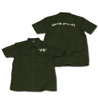 Military Shirts アーミー one by one clothing