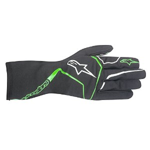 alpinestars(アルパインスターズ) TECH 1-K RACE KART GLOVES ANTHRACITE/GREEN S 3552017-147-S