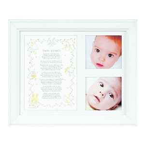 The Grandparent Gift Co. Photo Frame, Twin Hearts by The Grandparent Gift