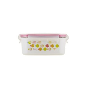 Innobaby Keepin' Fresh Stainless Steel Bento Lunch Box/Food Container, Pink Fish by Innobaby