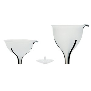 OXO Good Grips 3ピースFunnel and Strainer Set 3-Piece