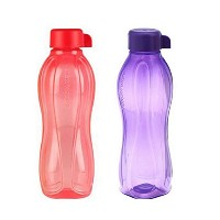 2 x Tupperware Eco Water Bottle 500 ml (17 oz) by Tupperware