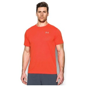 アンダーアーマー メンズ トップス Tシャツ【Under Armour HeatGear Streaker Short Sleeve T-Shirt】Phoenix Fire/Phoenix...