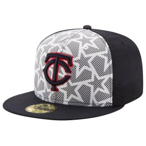ニューエラ メンズ 帽子 キャップ【New Era MLB 59Fifty Stars & Stripes July 4th Cap】Multi