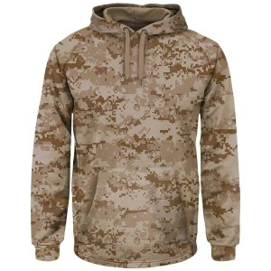 マジェスティック メンズ トップス パーカー【Majestic Premier Home Plate Hooded Tech Fleece】Digi Camo