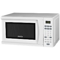 Sunbeam SGS90701W 0.7-Cubic Feet Microwave Oven, White by Sunbeam