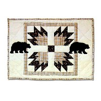 Patch Magic 19-Inch by 13-Inch Bear's Paw Place Mat [並行輸入品]