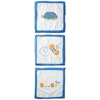 Step By Step Boy Garden Wall Hangings 3 Pack, Blue by Step by Step
