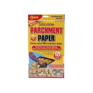 "15"" x 12"" 10 Silicone Parchment Paper Sheets"