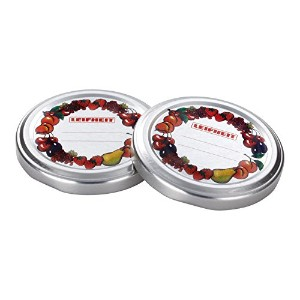 Leifheit 36402 All-in-one Screw Top Canning Lid, Silver by Leifheit