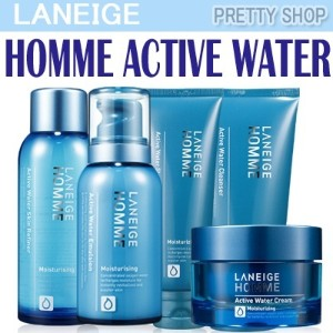 ★Laneige★ HOMME ACTIVE WATER Skin/Emulsion/Cream/Cleansing Foam