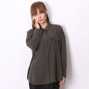 【SALE 55%OFF】アトモス atmos LAB BIG POCKET SHIRT (KAHKI)