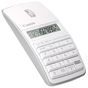 Canon 5565B002 X Mark I Mouse Slim Computer Link Calculator (White) by Canon [並行輸入品]