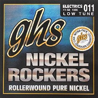 GHS Nickel Rockers 1300 Low Tuned Set 11-58 エレキギター弦×12SET
