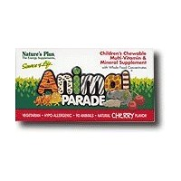 Animal Parade Children's Chewable Multi-Vitamin & Mineral Cherry 90 Tablets