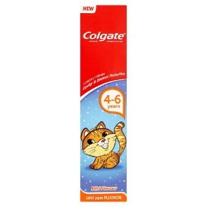 Colgate Anticavity Toothpaste for Kids 4-6 Years, 50ml by Colgate Palmolive