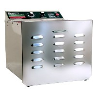 TSM Products Stainless Steel Food Dehydrator with 10 Stainless Steel Shelves by TSM Products [並行輸入品]