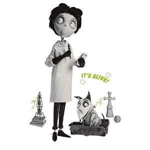 Roommates Rmk2127Gm Frankenweenie Giant Peel And Stick Wall Decals [並行輸入品]