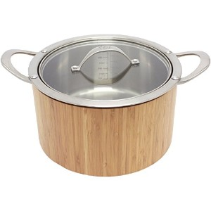 CAT CORA by Starfrit Stainless Steel Cook N Serve Casserole, 3.8-Quart [並行輸入品]
