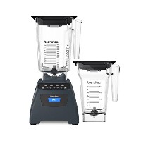 Blendtec C575A2314A-AMAZON Classic 575 Blender Bundle with Wild Side+ Jar and Four Side Jar, Slate...