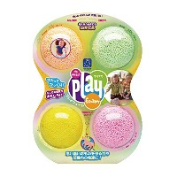 Educational Insights Playfoam - Sparkle 4-Pack 【知育玩具 つぶつぶ粘土遊び】 プレイフォーム スパークル きらきら(4個入り) 正規品