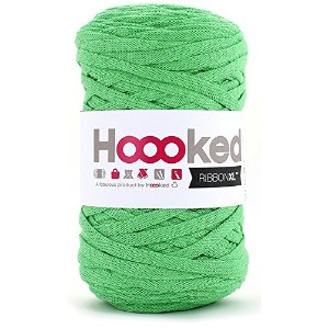 DMC Hoooked RIBBONXL 手編み用コットン #801/30 Green