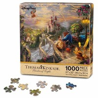 Disney(ディズニー)Beauty and the Beast ''Falling in Love'' Puzzle by Thomas Kinkade 美女と野獣パズル 【並行輸入品】