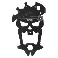 SOG MacV Tool Multi-Tool SM1001-CP - Hardcased Black, 12 Tools in One: Bottle Opener, Screwdrivers...