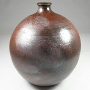 Single-flower vase-Tanba Tachikui Pottery-