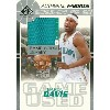 バロン デービス Baron Davis NBAカード 03/04 SP Game Used Authentic Fabrics