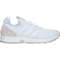 アディダス メンズ スニーカー シューズ Men's adidas ZX Flux Primeknit Casual Shoes White