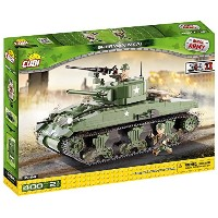 Cobi Small Army ミリタリーブロック WWII 第二次世界大戦 アメリカ軍 M4A1 シャーマン #2464 【COBI 日本正規総代理店】