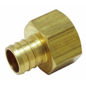 WattsLF P-515Brass PEX Female Adapter (FIP)-1/2CFX1/2FPT BRS ADAPTER (並行輸入品)