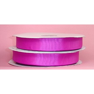 PEPPERLONELY Brand 1/4 Inch Grosgrain Ribbon 50 Yard/Roll, Fuchsia by PEPPERLONELY