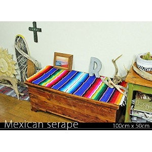 RUG&PIECE Mexican Serape made in mexcico ネイティブ メキシカン サラペ メキシコ製 (rug-5531)