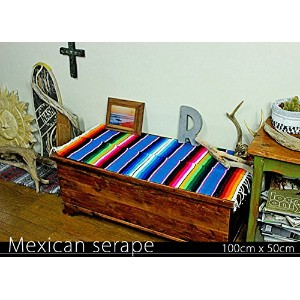 RUG&PIECE Mexican Serape made in mexcico ネイティブ メキシカン サラペ メキシコ製 (rug-5529)