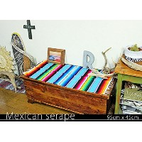 RUG&PIECE Mexican Serape made in mexcico ネイティブ メキシカン サラペ メキシコ製 (rug-5536)