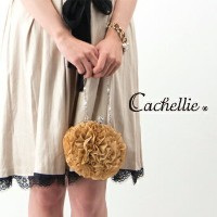 Cachellie カシェリエ FRILL POUCH[51-6455/56/57]