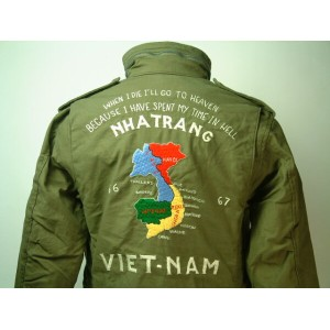 """Buzz Rickson's(バズリクソンズ)COAT,MAN'S,FIELD, type M-65 """"23rd Tactical Air Support Squadron""""送料無料 【smtb..."""