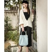 ACCORDION TOTE BAG(THE CLOUDS)【ラシット/russet トートバッグ】