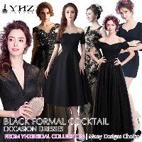 Black Formal Gown Cocktail Party Dress Mermaid Evening Dress Prom Dress Lace Matte satin Dresses