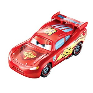 "MATTEL Disney-PIXAR ""CARS2"" COLOR CHANGERS ""LIGHTNING McQUEEN"" [Red to Black] マテル ディズニー/ピクサー 「カーズ2」..."