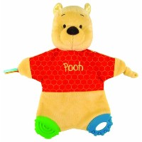 Kids Preferred Classic Pooh Flat Blanky Teether by Kids Preferred (English Manual)