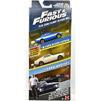 """MATTEL 1:55 SCALE """"THE FAST AND THE FURIOUS"""" """"FAST & FURIOUS DIE-CAST 3-PACK SET"""" マテル社製 1:55スケール ..."""