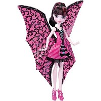 Monster High モンスターハイ Ghoul-to-Bat Transformation Draculaura Doll ドール [並行輸入品]