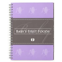 Glow Baby Baby's First Foods Tracker, Purple by Glow Baby