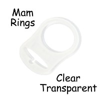 25 MAM Ring Button Style Pacifier Adapter by I Craft for Less